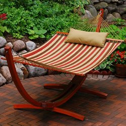Arc Frame and Quilted Hammock Set
