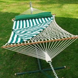 Algoma Cotton Rope Hammock Set