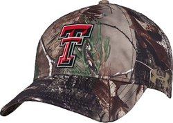 Under Armour™ Men's Texas Tech University Realtree Camo Flex Cap