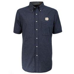 Antigua Men's University of Notre Dame League Short Sleeve Shirt