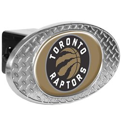 Great American Products Toronto Raptors Diamond Plate Trailer Hitch Cover