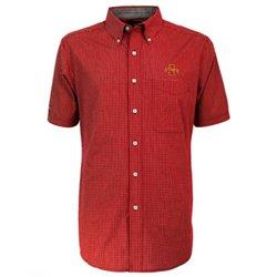Antigua Men's Iowa State University League Short Sleeve Shirt