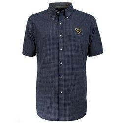 Antigua Men's West Virginia University League Short Sleeve Shirt