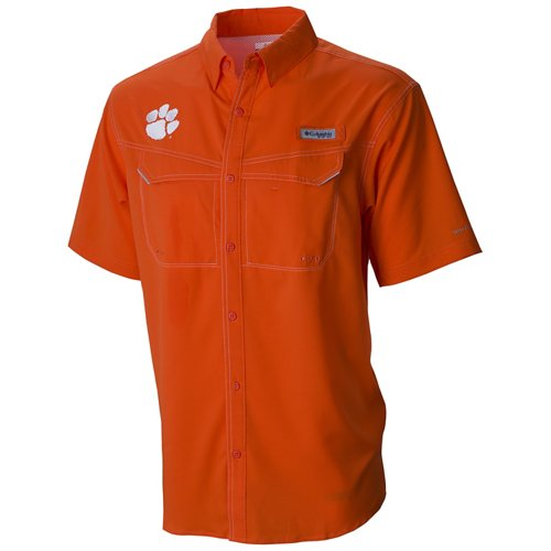Columbia Sportswear Men's Clemson University Low Drag Offshore Shirt