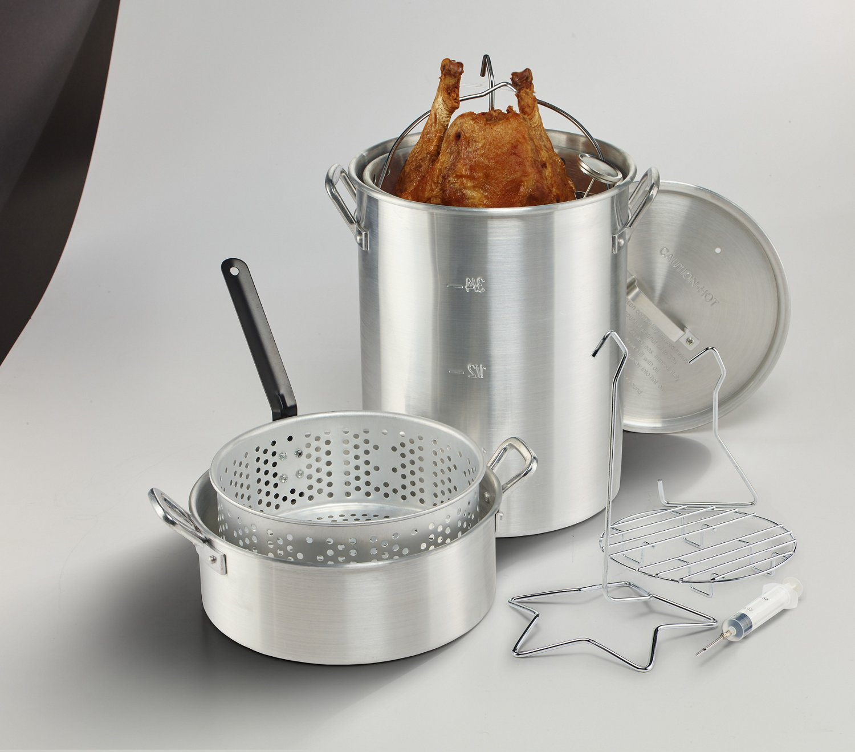 Outdoor Gourmet Deluxe Combo Pot Kit - view number 4