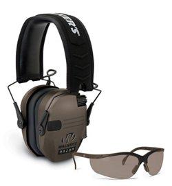 Walker's Razor Electronic Earmuffs Combo
