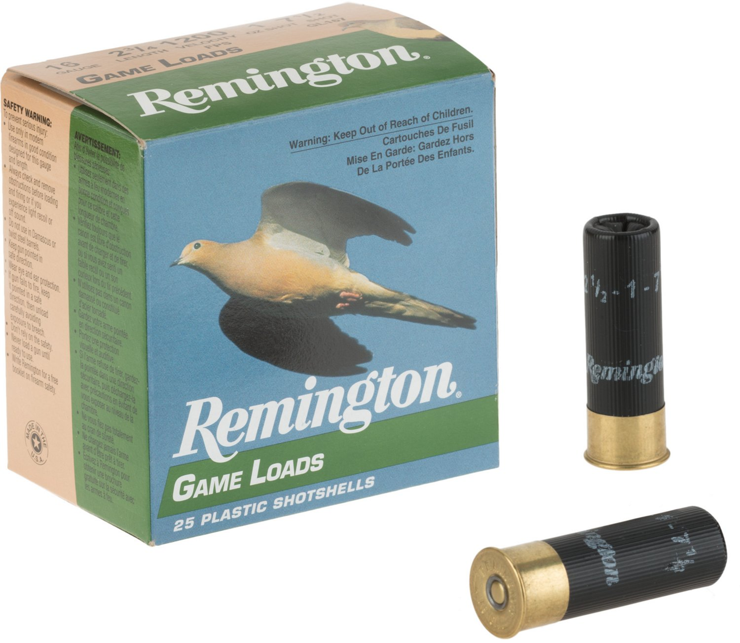 Remington 16 Gauge Upland Lead Game Loads - view number 2
