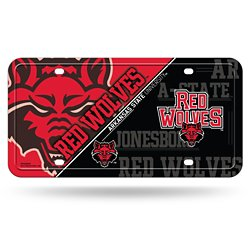 Rico Arkansas State University Metal License Plate
