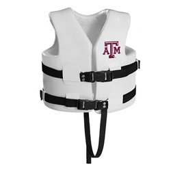 TRC Recreation Kids' Texas A&M University Super Soft™ Life Vest