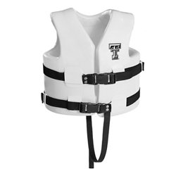 TRC Recreation Kids' Texas Tech University Super Soft™ Life Vest