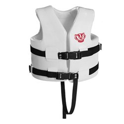 TRC Recreation Kids' University of Wisconsin Super Soft™ Life Vest
