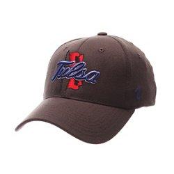 Zephyr Men's University of Tulsa Charcoal Flex Cap