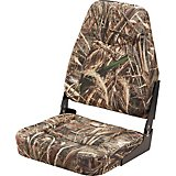 Marine Raider Camo High-Back Boat Seat