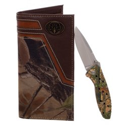 Magellan Outdoors Men's Secretary Wallet and Folding Knife Set