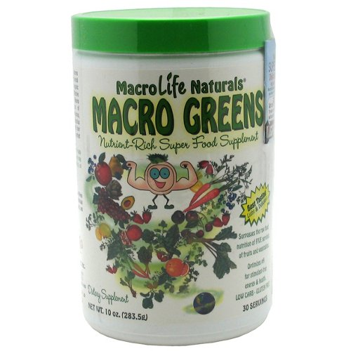 MacroLife Naturals Macro Greens Super Food Supplement