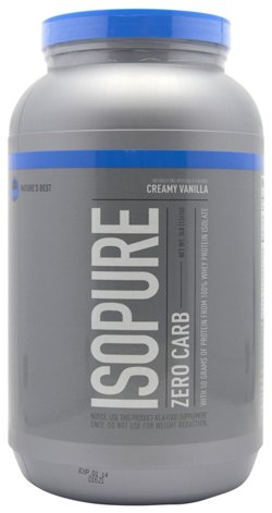 Nature's Best Isopure Zero Carb Protein Powder