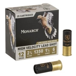 Monarch® Long Range 12 Gauge Shotshells