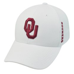 Top of the World Men's University of Oklahoma Booster Plus Memory Fit™ Cap
