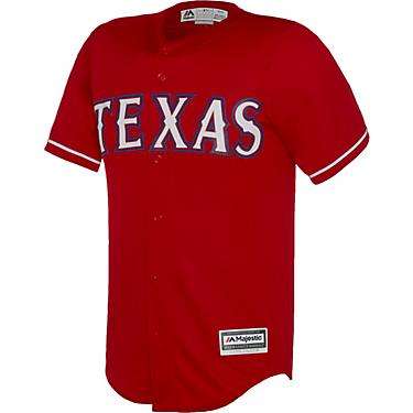 best authentic eff04 f2840 Majestic Men's Texas Rangers Nomar Mazara #30 COOL BASE® Jersey