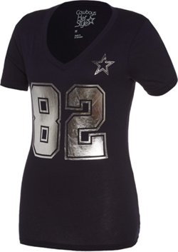 Women's Tony Romo #9 Shimmer T-shirt