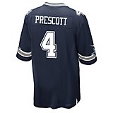 ae91d8b714b Men's Dallas Cowboys Dak Prescott 4 Game Replica Jersey Quick View. Nike