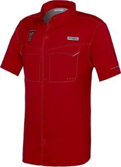 Columbia Sportswear™ Men's Texas Tech University Low Drag Offshore Short Sleeve Shirt