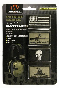 Walker's Patriot Razor Muff Patch Kit