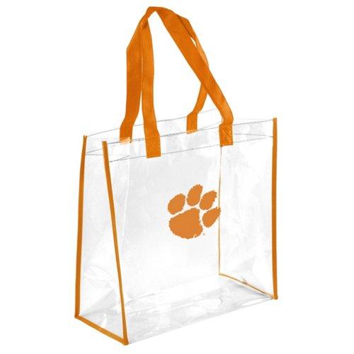 Team Beans Clemson University Clear Reusable Bag