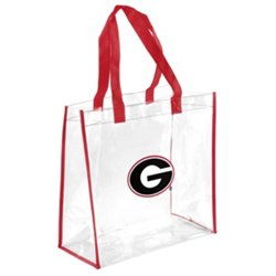 Team Beans University of Georgia Clear Reusable Bag