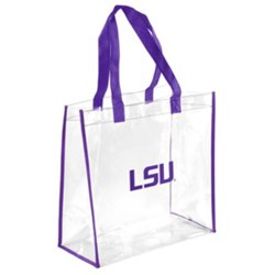 Louisiana State University Clear Reusable Bag
