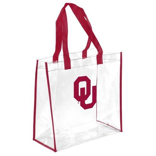 Team Beans University of Oklahoma Clear Reusable Bag
