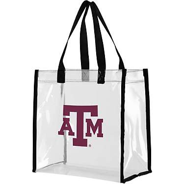 Team Beans Texas A&M University Clear Reusable Bag