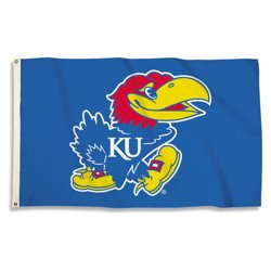 BSI University of Kansas Fan Flag