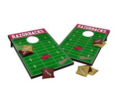 Wild Sports University of Arkansas Tailgate Bean Bag Toss Game