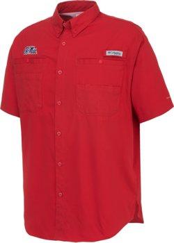 Columbia Sportswear Men's University of Mississippi Tamiami™ Button Down Shirt