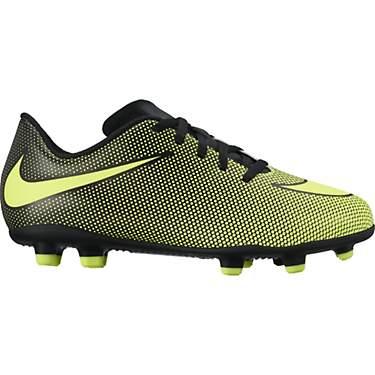 0da9f7216b810 Nike Kids' Bravata II Firm Ground Soccer Cleats
