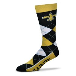 For Bare Feet Unisex New Orleans Saints Team Pride Flag Top Dress Socks