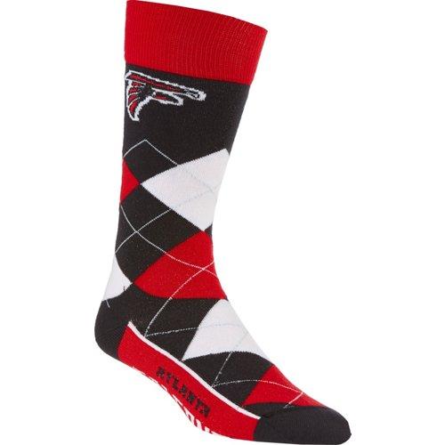 For Bare Feet Unisex Atlanta Falcons Team Pride Flag Top Dress Socks