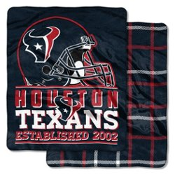 The Northwest Company Houston Texans I-Cloud Throw