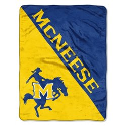 The Northwest Company McNeese State University Halftone Micro Raschel Throw