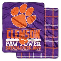 The Northwest Company Clemson University I-Cloud Throw