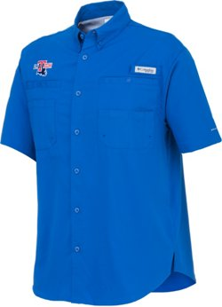 Columbia Sportswear Men's Louisiana Tech University Tamiami™ Button Down Shirt