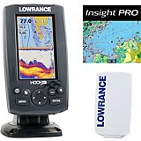 Lowrance Hook-4 Mid/High/Downscan Fishfinder/Chartplotter with Insight Pro