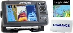 Lowrance Hook-7 Mid/High/Downscan Fishfinder/Chartplotter with Insight Pro