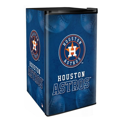 Boelter Brands Houston Astros 3.2 cu. ft. Countertop Height Refrigerator