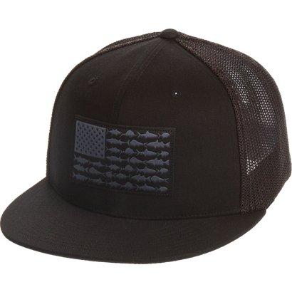Columbia Sportswear Adults  PFG Mesh Flat Brim Cap  05b1bd39582