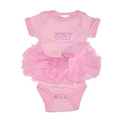 Two Feet Ahead Infant Girls' University of Central Florida Pin Dot Tutu Creeper