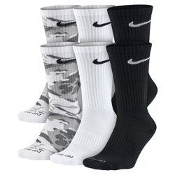 Nike Men's Dri-FIT Cushion Crew Socks 6 Pack