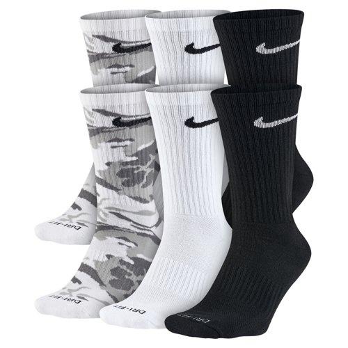 Nike Men's Dri-FIT Cushion Crew Socks 6 Pack