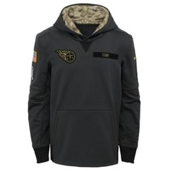 Nike™ Boys' Tennessee Titans Salute to Service Hoodie